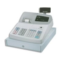 Sharp ER-A242 Cash Register