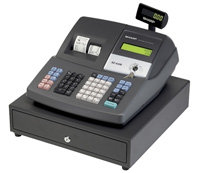 Sharp XE-A406 Cash Register