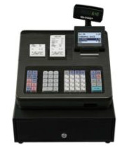 Sharp XE-A407 Cash Register