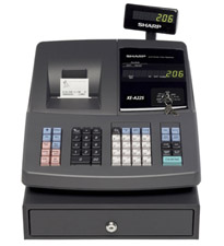 Sharp XE-A22S Cash Register