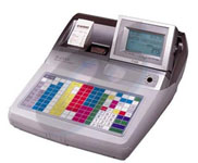 Casio TE-4500F Cash Register