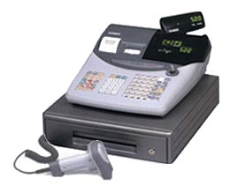 Casio TE-2000 Cash Register, Casio TE 2000 Cash Register